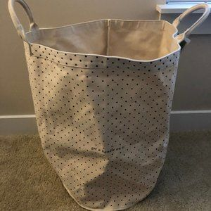 Kate Spade Giant Collapsible Laundry Bag/Basket
